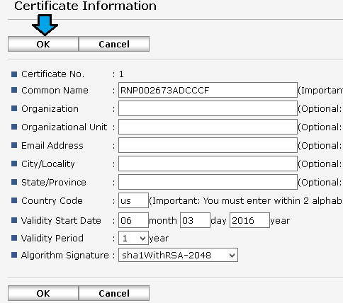 Enabling HTTPS on a Ricoh MFP – Argos support