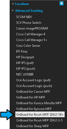 MFPs - OnBoard for Ricoh SDK/J versions 10+ or higher